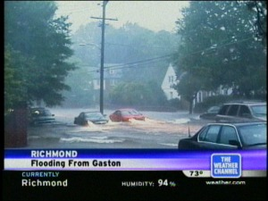 streets flooding - the weather channel
