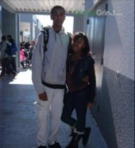 trayvon martin with friend