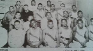 William Henry Comprehensive High School Track Team 63ish