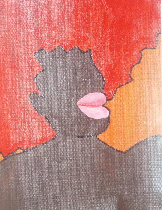 Venus, acrylic on canvas (2006)