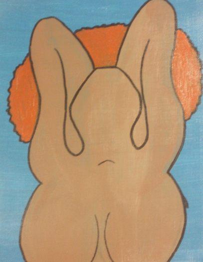 Jazzybelle, acrylic on canvas (2006)