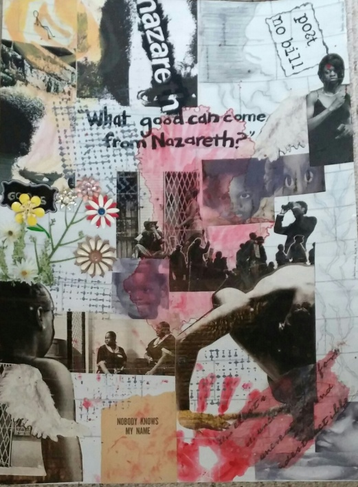 What Good Can Come From Nazareth, works on paper (2014)