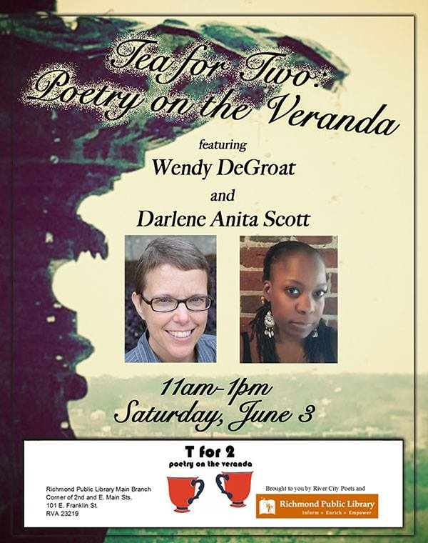 Tea for Two Poetry Reading